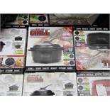 | 10X | MICRO CHEF GRILL DELUXE KIT, TURNS YOU MICROWAVE INTO A GRILL | UNCHECKED AND BOXED | NO