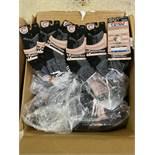 250+ packs of New Socks, Wrightsocks Merino Wool TRL, Double Layer, Black/Gray
