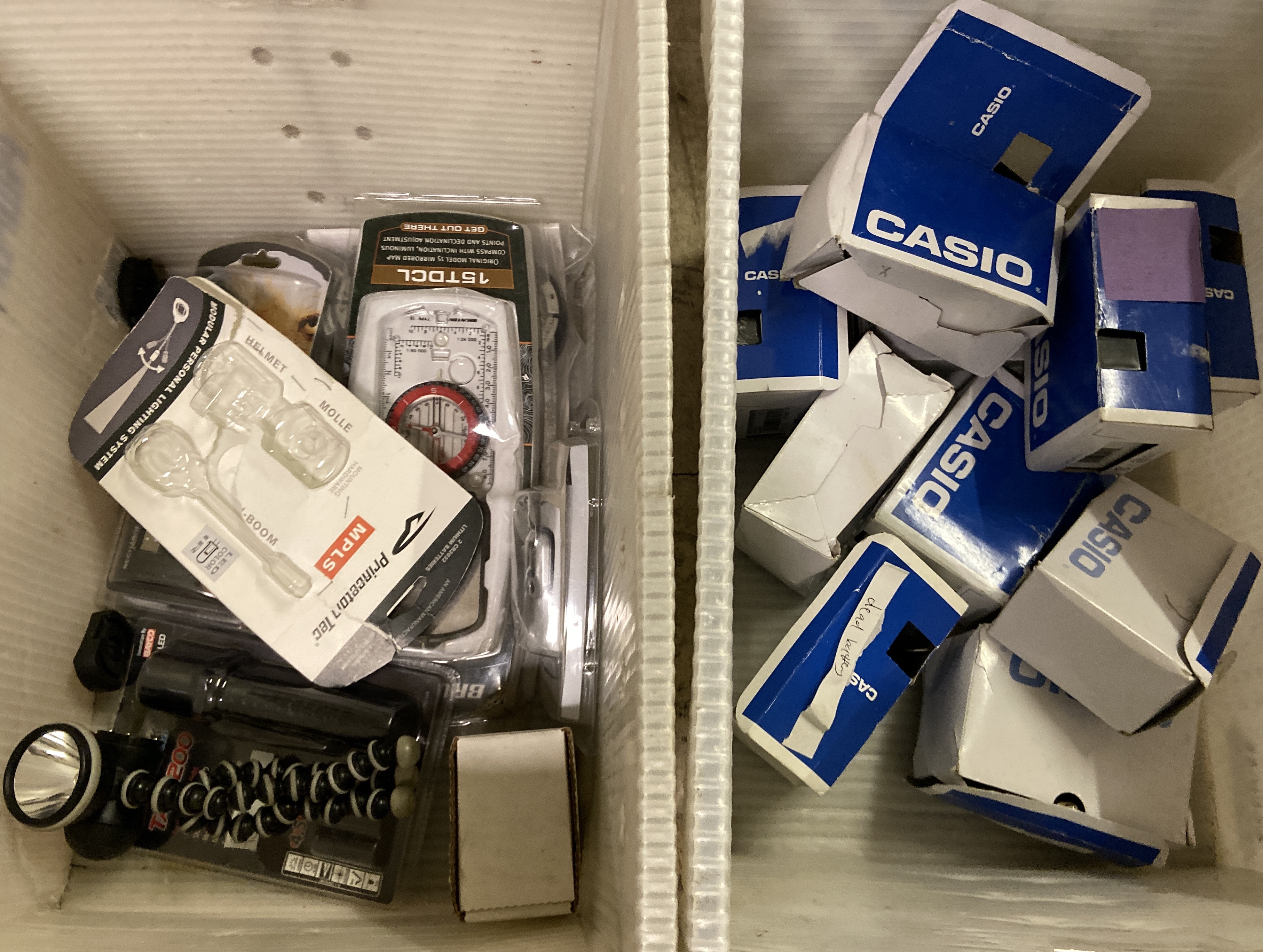 Mixed lot of Casio digital watches, tactical gear, etc. 50+ retail pieces - Image 2 of 3