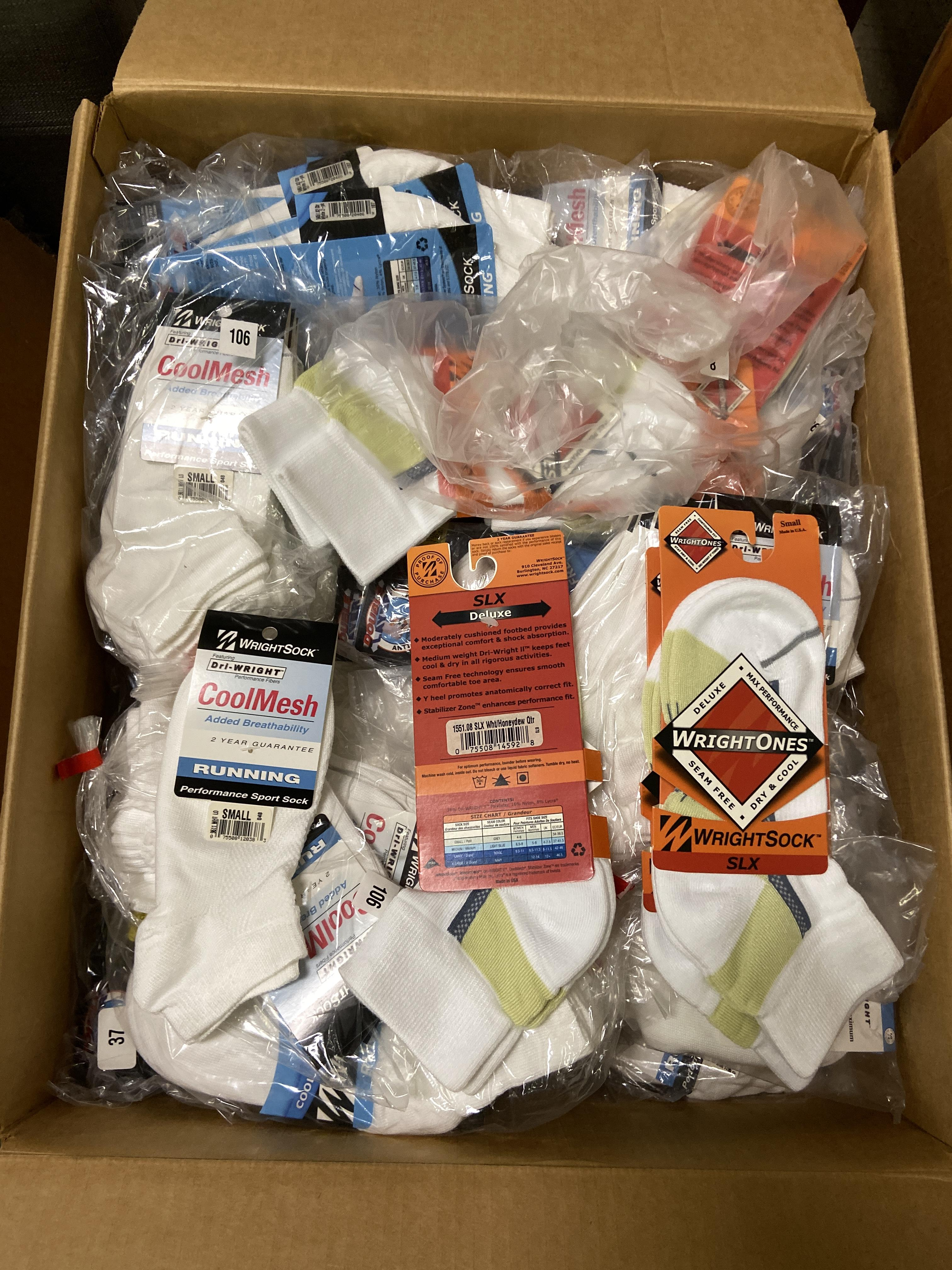 500+ packs of New Socks, Wrightsocks Various Styles, Various Colors and Styles - Image 2 of 6