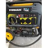 Fireman Dual Fuel Generator Unit