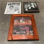 Collection of Wayne Newton Signed Photos and Magazine