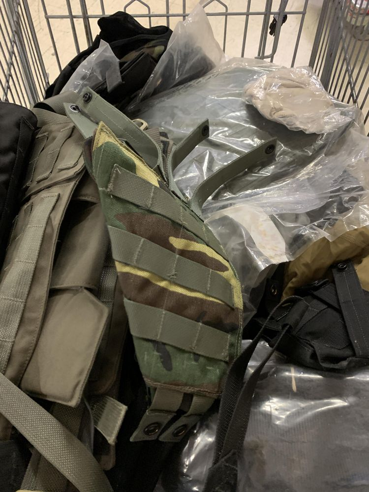 16 Misc Blackwater Gear Tactical Firearm Vests and Accessories - Image 3 of 6