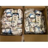 500+ packs of New Socks, Wrightsock Running, Double Layer, USA America Flag White