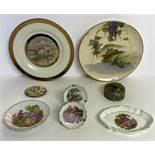 8 Fine China Dishes and Jewelry trays/box