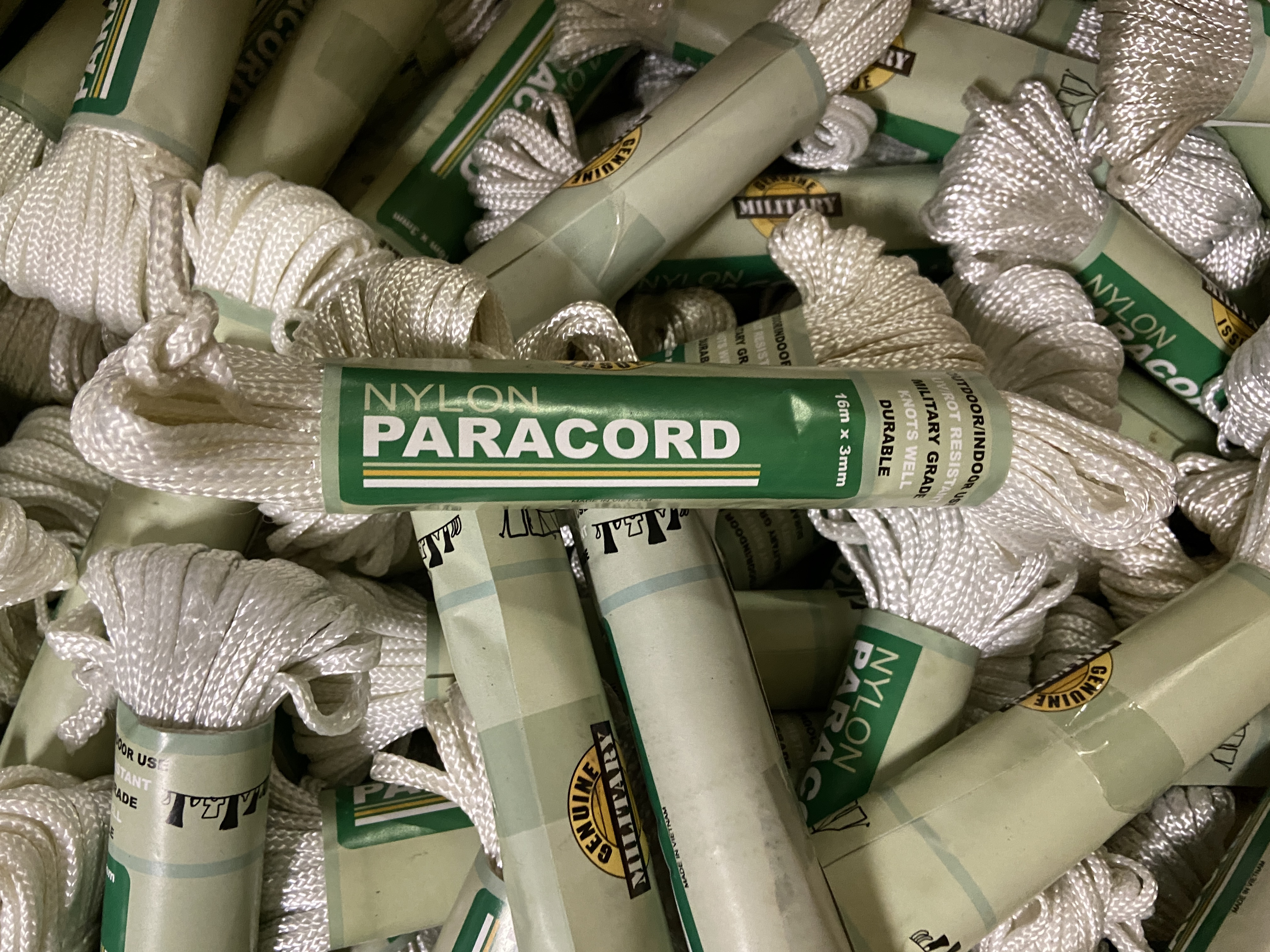 20,000+ units of Nylon Utility Rope Paracord Cord for indoor/outdoor use, Retail Value $33k+ - Image 9 of 9