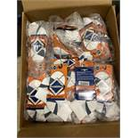 250+ packs of New Socks, Wrightsocks Wrightones SLR, White/Gray