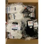 250+ packs of New Socks, Wrightsock Running, Performance Sport, White and Black Styles