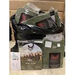 74 Pieces ofDriFire Shirts (41) and Long Pants (33), Performance FR System Sportwear, Olive, New,