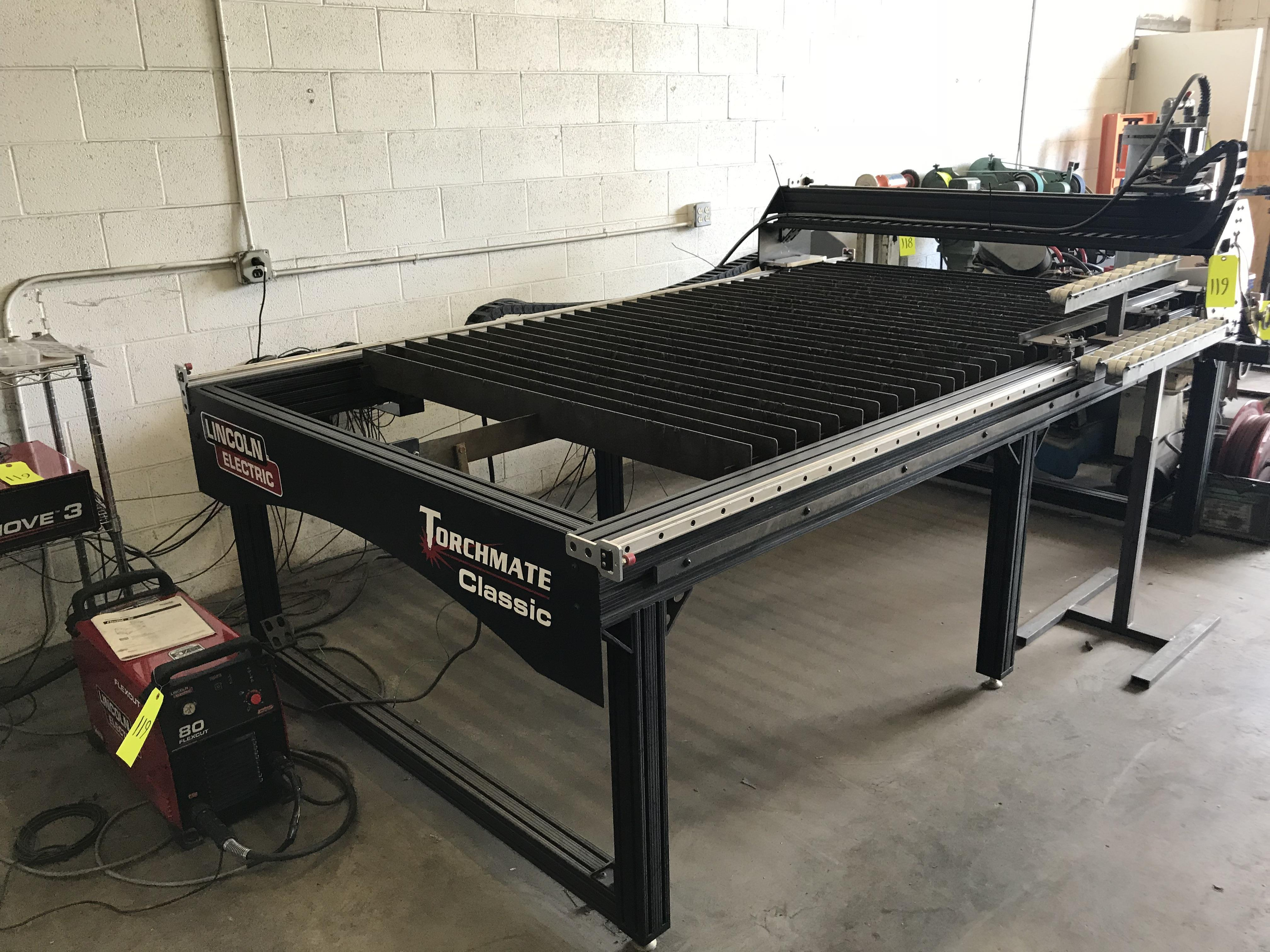 Lincoln Electric Model Torchmate Classic 5 X 10 Table