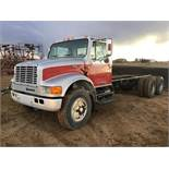 1991 IH 4900 T/A Cab & Chassis Truck Tractor VIN 1HTSG0008TH250342 466 Diesel Eng, 10spd Trans,