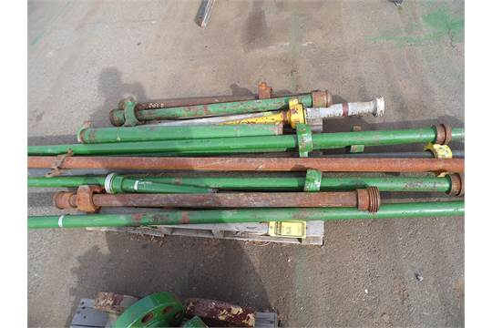 Combination of lots thru threaded pipe with