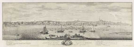 Lot 39 - Philipp Wilhelm & Barbara Helena Oeding Prospect der daenischen Handels-Stadt Altona, wie sie von