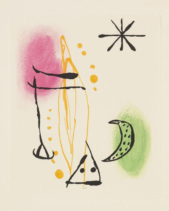 Lot 94 - René Crevel La bague d'aurore. Paris, L. Broder 1957. Zierliches Künstlerbuch, das durch die