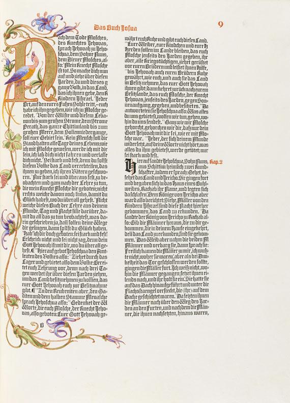 Lot 76 - Die heiligen Bücher des alten Bundes Die ersten Propheten. Übertragen durch Lazarus Goldschmidt.