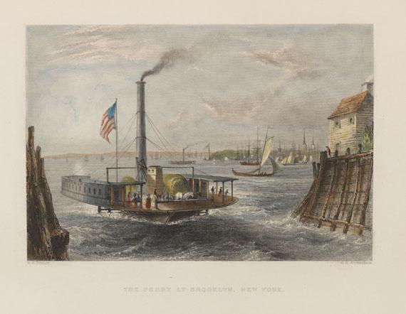 Lot 35 - Nathaniel Parker Willis American Scenery; or, land, lake, and river illustrations of transatlantic