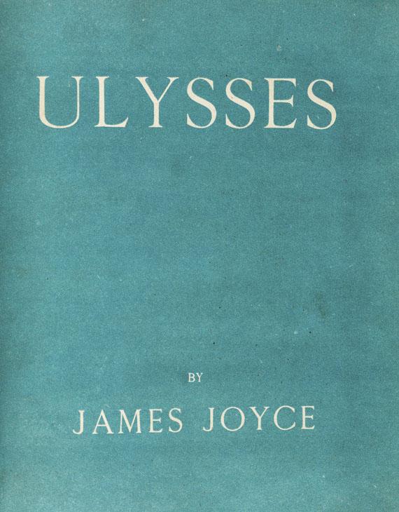 Lot 79 - James Joyce Ulysses. Paris, Shakespeare and Company 1922. Erste Ausgabe eines der bedeutendsten