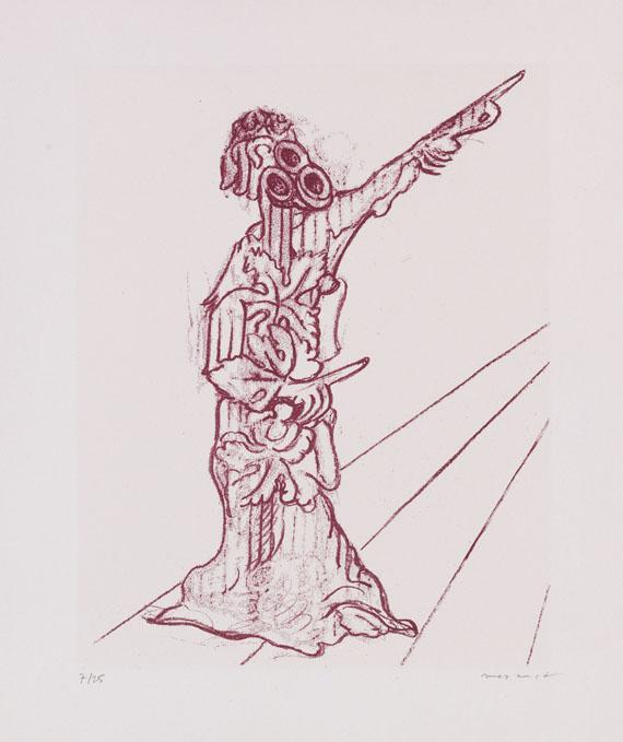 Lot 99 - Jean Tardieu Le parquet se soulève. Avec six lithographies originales de Max Ernst. Vaduz,