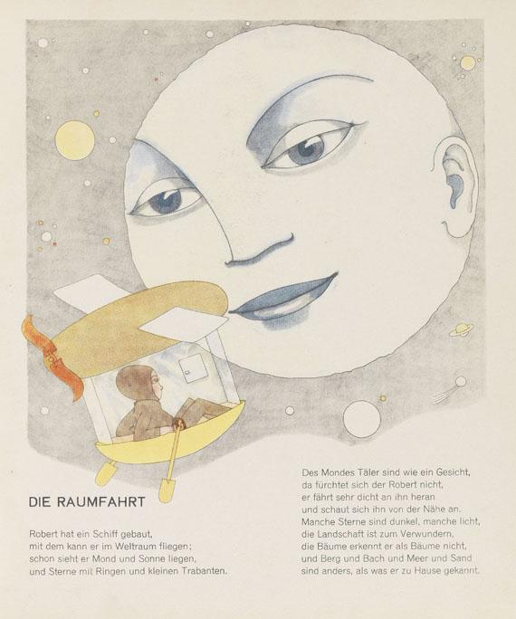Lot 64 - Tom Seidmann-Freud Buch der erfüllten Wünsche. Ein Bilderbuch. Potsdam, Müller und Kiepenheuer 1929.