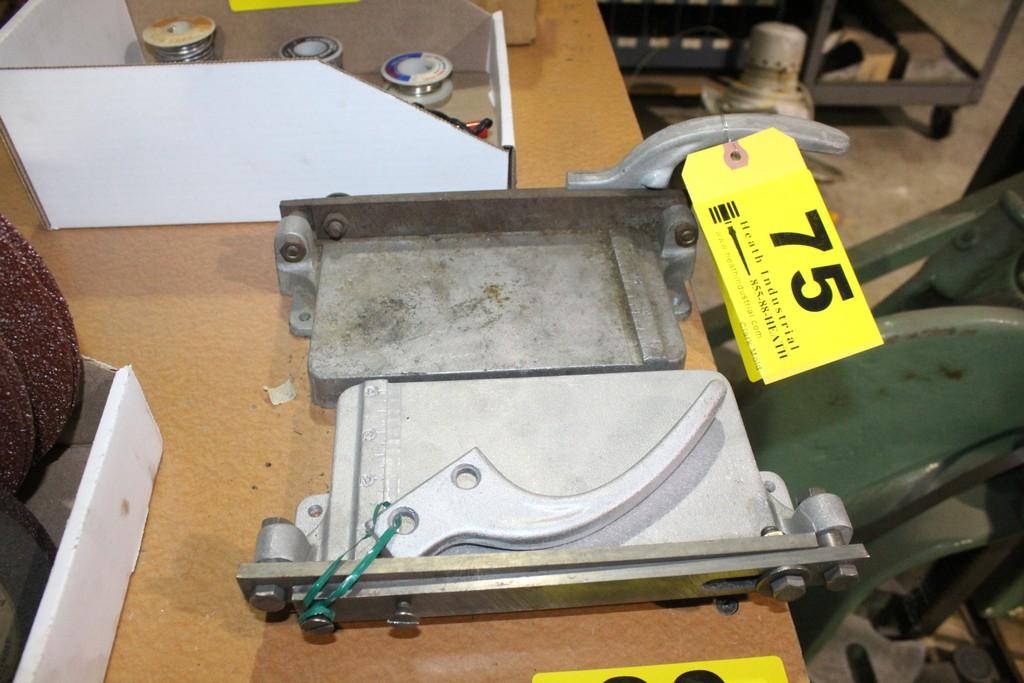 (2) PLASTIC TILE CUTTERS