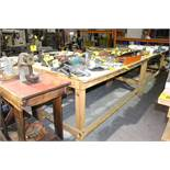"HEAVY DUTY LAYOUT TABLE 96""X48""X40"""