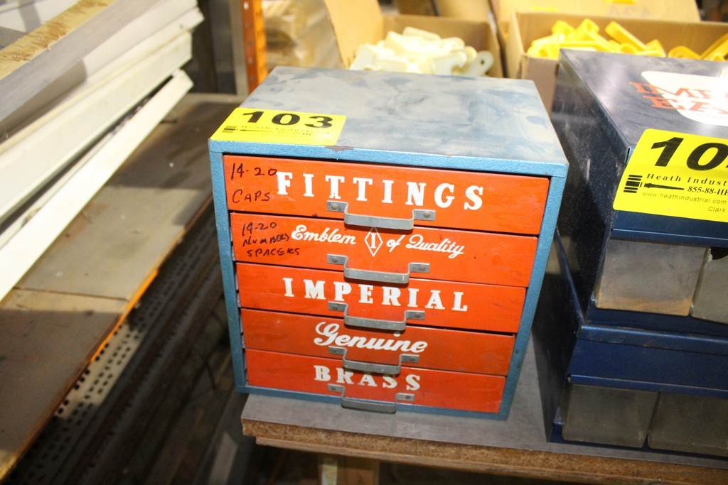 IMPERIAL 5 DRAWER FITTINGS CABINET