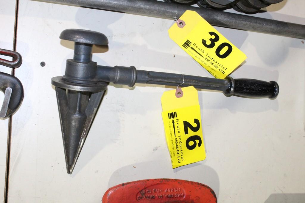 Lot 26 - NYE P920 PIPE REAMER