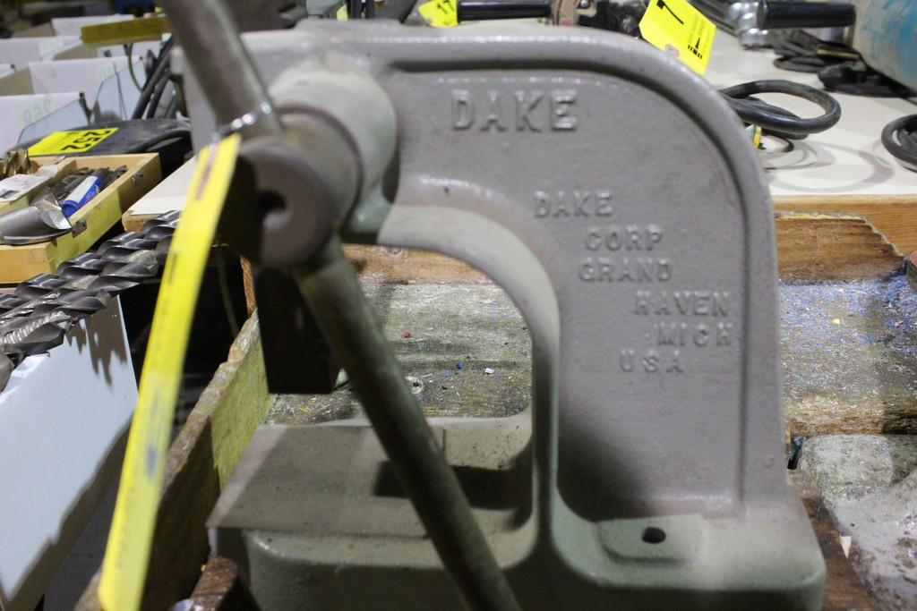 DAKE MODEL X BENCHTOP ARBOR PRESS - Image 2 of 2