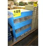 (3) IMPERIAL FITTINGS CABINETS WITH BINS