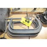 (2) WILLIAMS CC-410 HEAVY DUTY C CLAMPS