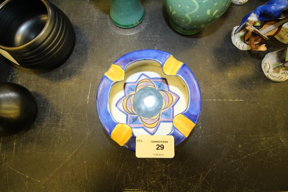 Lot 29 - Carlton Ware ashtray 'Handcraft'