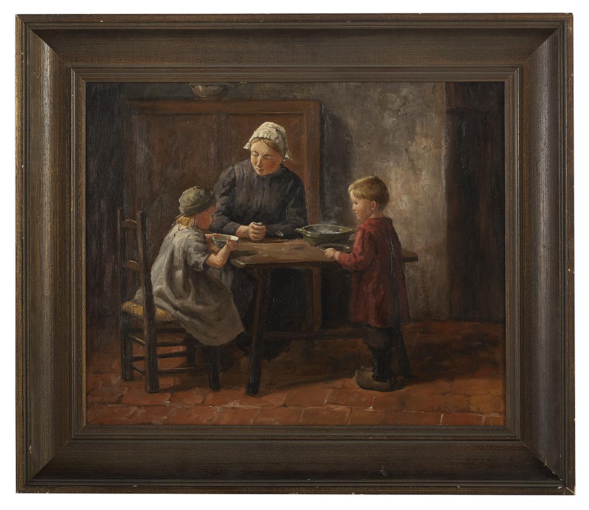 Lot 90 - Hendricus Antonius Dievenbach, (Dutch, 1872-1946)