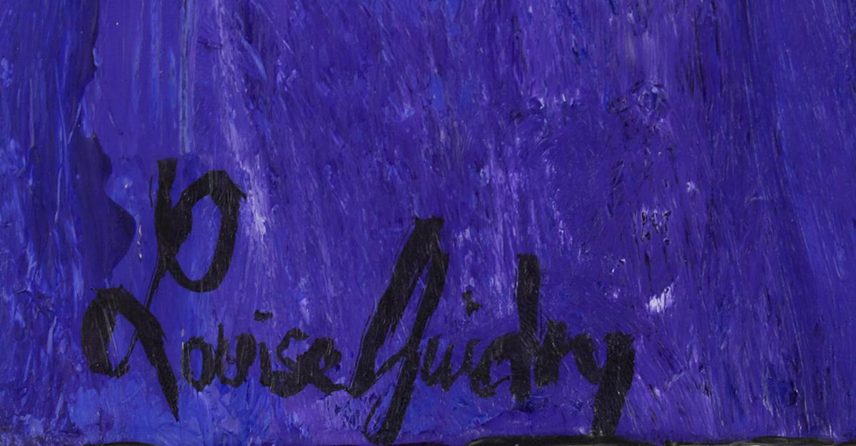 Lot 379 - Louise Guidry (US/Louisiana, b. 1930)