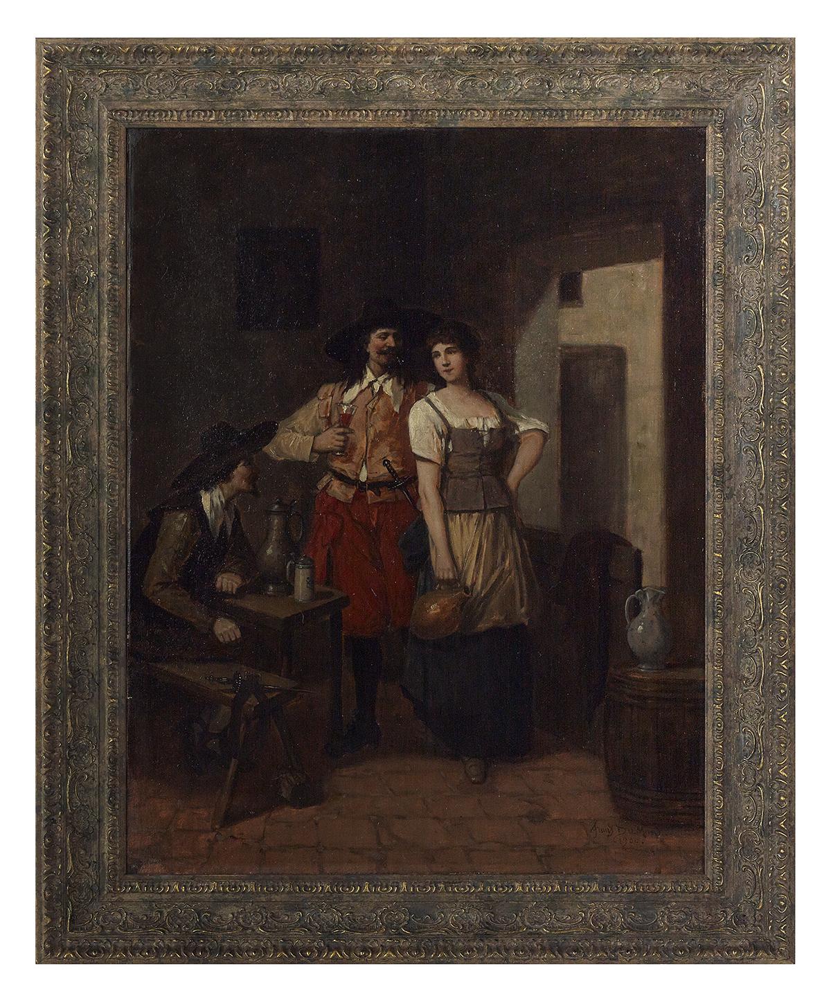 Lot 89 - Francois Dumont (Belgian, b. 1850)