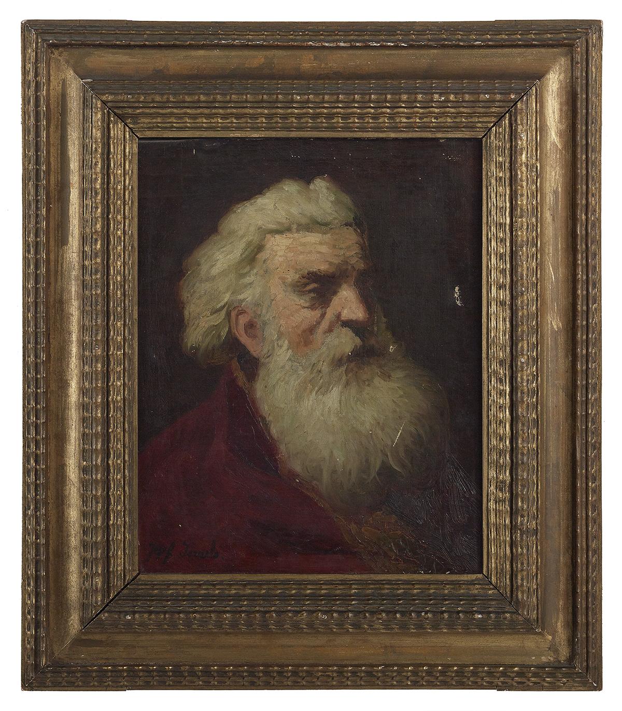 Lot 95 - Jozef Israels (Dutch, 1824-1911)