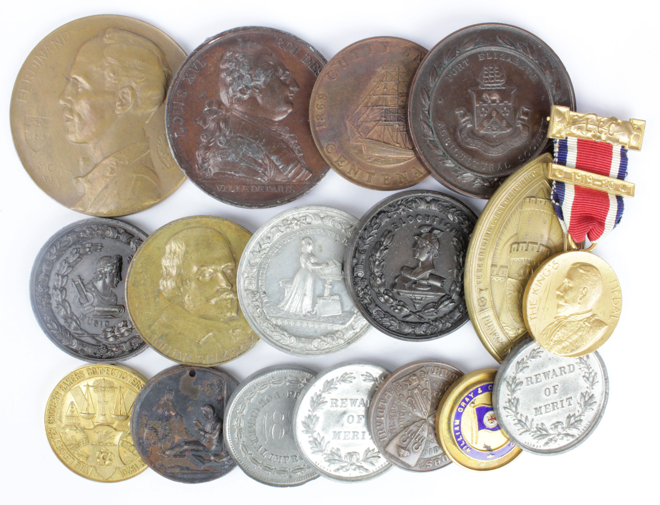 Lot 1122 - Medallions - various - (approx 17)