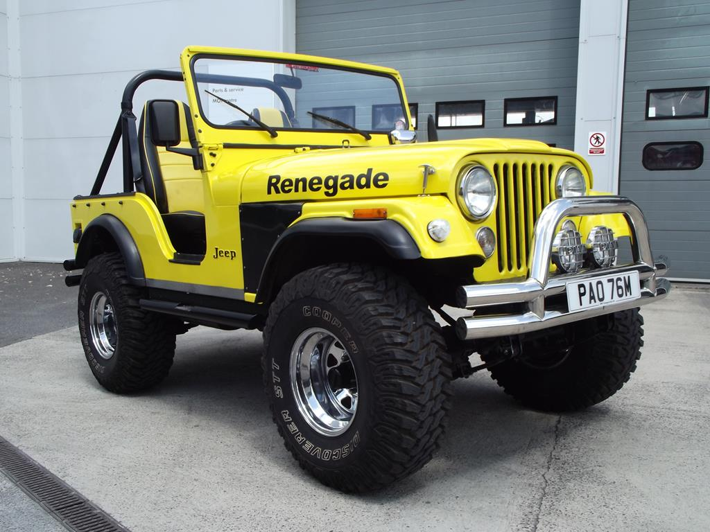 A 1973 Jeep Cj5 Renegade Registration Number Pao 76m Yellow This Old For Sale Lot 6