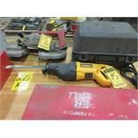 DEWALT V/S RECIPROCATING SAW, MODEL: 310, 1 1/8'' STROKE, S/N 934697