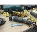 PORTER CABLE 4 1/2'' ANGLE GRINDER, MODEL: PC750AG