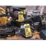 PORTER CABLE V/S BELT SANDER, MODEL: 3X21, S/N 1663, & SKIL 1/3 HP JIG SAW, MODEL: 4235, S/N 7RRU3