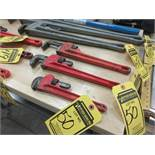 PITTSBURGH 14'' & 10'' PIPE WRENCHES