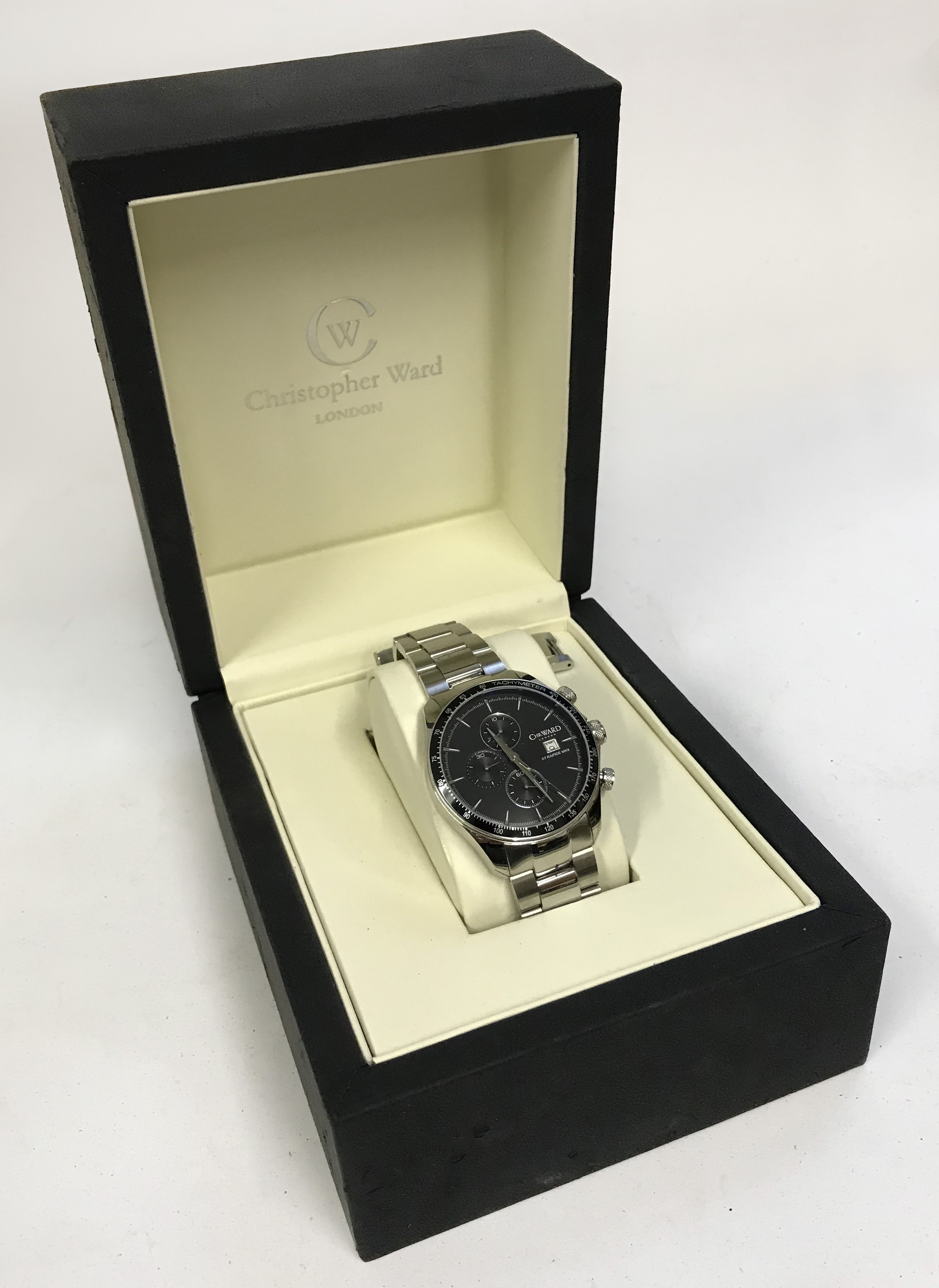 Lot 47 - Christopher Ward Boxed Wristwatch C7 MKII