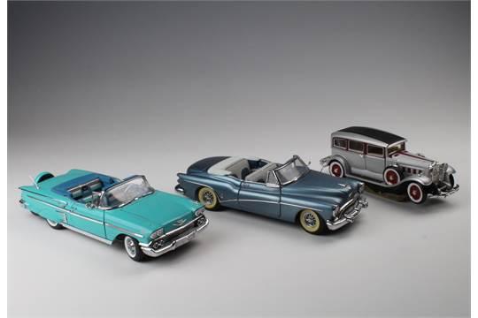 Two Danbury Mint Model Cars Comprising 1958 Chevrolet Impala Amp