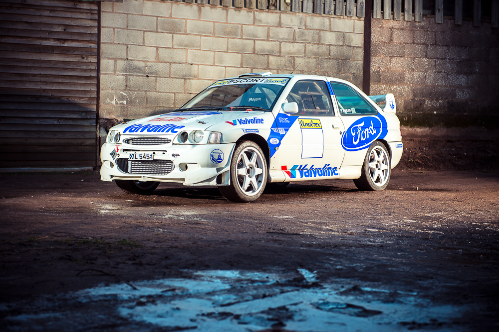 1994 Ford Escort RS Cosworth Group N Rally Car Registration number ...