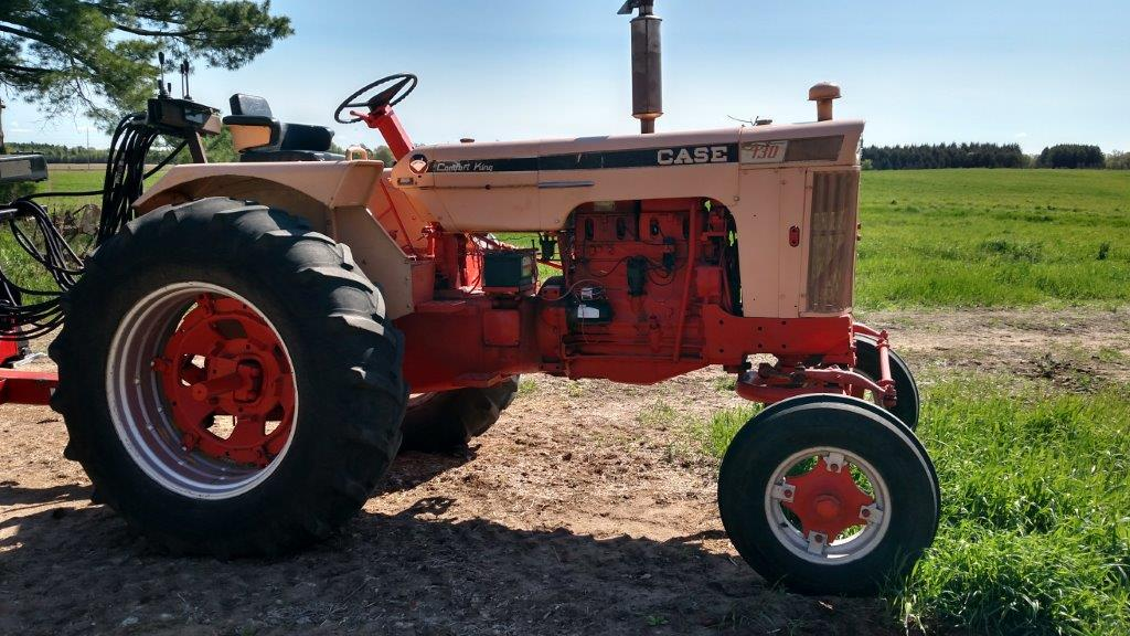 Case Gas Tractor : Case comfort king gas tractor