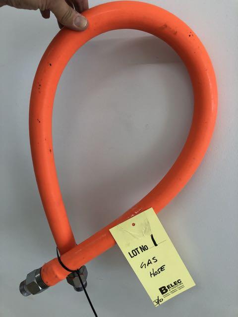 Lot 1 - Boyau gaz, orange