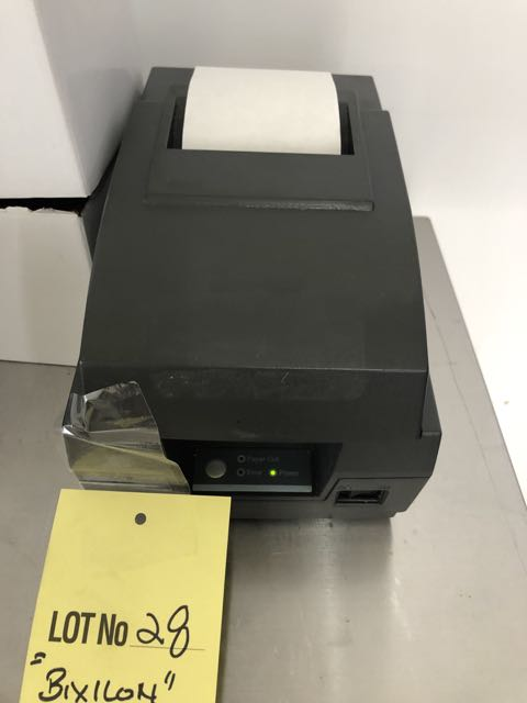 Lot 28 - Imprimante à reçus BIXILON # SRP-2700G