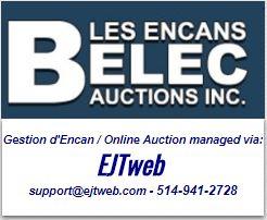 Lot 0 - online SUPPORT / ASSISTANCE en ligne : 514-941-2728 - support@ejtweb.com