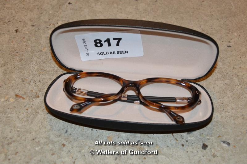 *PAIR OF CASED GIVENCY READING GLASSES FRAMES (2006)