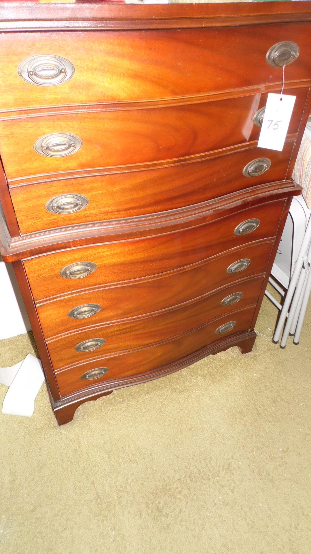 3-PIECE CHEST ON CHEST & 2-NITE STANDS - Image 2 of 4